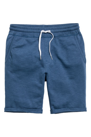 Sweatshirt shorts - Dark blue - Men | H&M CN 1