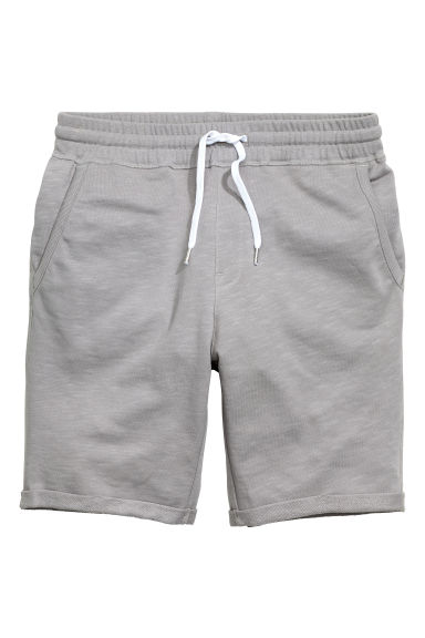 Sweatshirt shorts - Grey - Men | H&M CN