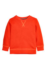 Sweatshirt - Orange -  | H&M CN 2