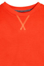 Sweatshirt - Orange -  | H&M CN 3