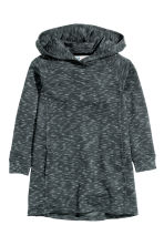 Sweatshirt dress - Black marl - Kids | H&M CN 2