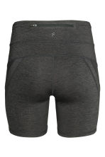 Short running tights - Dark grey marl - Ladies | H&M CN 3