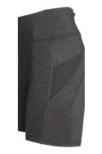 Short running tights - Dark grey marl - Ladies | H&M CN 4
