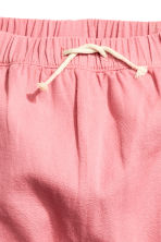 Lined cotton trousers - Pink - Kids | H&M CN 3
