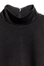 Sleeveless turtleneck top - Black - Ladies | H&M CN 3