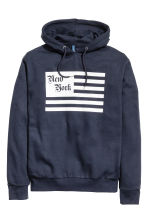 Hooded top - Dark Blue/New York -  | H&M CN 2