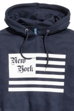 Hooded top - Dark Blue/New York -  | H&M CN 3