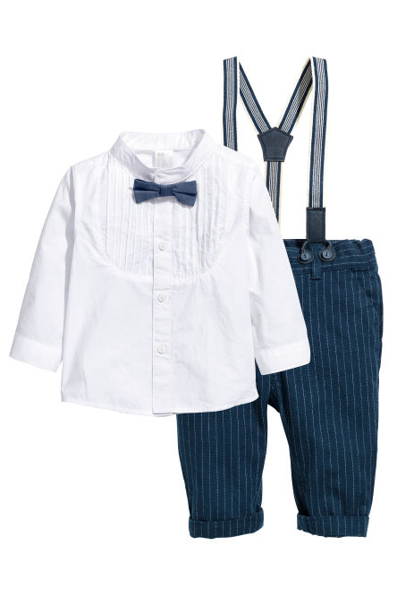 Dress shirt and trousers