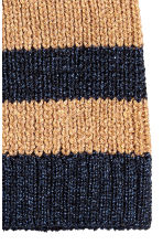 Glittery hat - Dark blue/Striped - Ladies | H&M CN 2