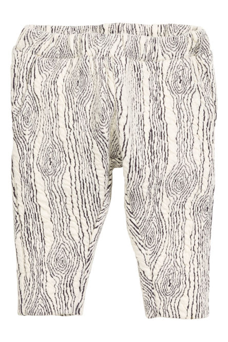 Patterned sweatpants
