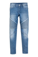 Super Skinny Fit Biker Jeans - Denim blue - Kids | H&M CN 2