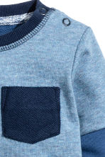 Block-coloured sweatshirt - Blue - Kids | H&M CN 2