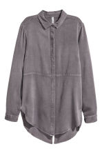 Camicia in twill - Grigio scuro - DONNA | H&M IT 3