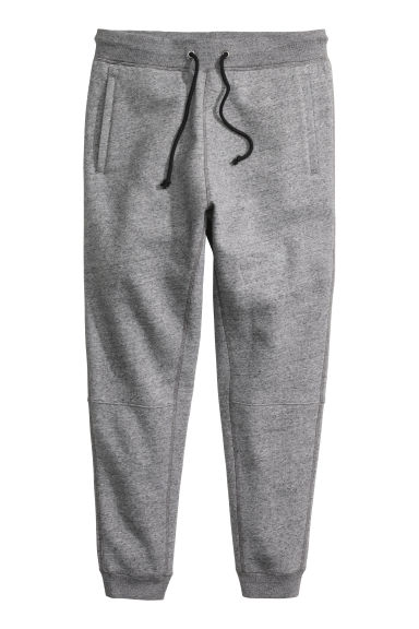 Joggers - Dark grey marl - Men | H&M CN 1