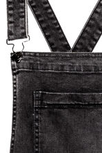 Trashed dungarees - Black washed out - Ladies | H&M CN 4