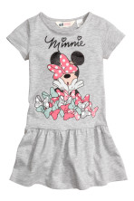 Grey marl/Minnie Mouse