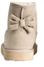 Warm-lined boots - Light beige - Kids | H&M CN 4
