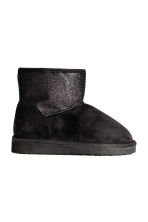 Warm-lined boots - Black/Glitter - Kids | H&M CN 2