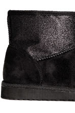 Warm-lined boots - Black/Glitter - Kids | H&M CN 5
