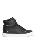 Pile-lined trainers - Black - Kids | H&M CN 1
