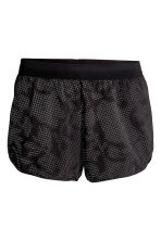 Shorts da running - Nero/fantasia - DONNA | H&M IT 2