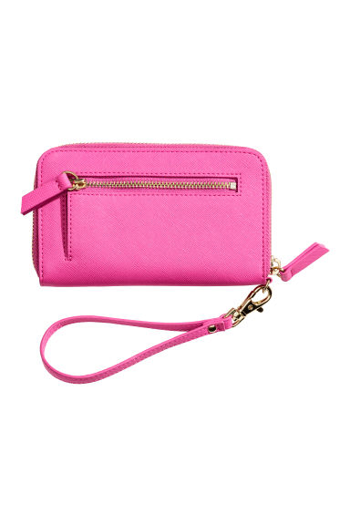 Zipped purse - Cerise -  | H&M GB