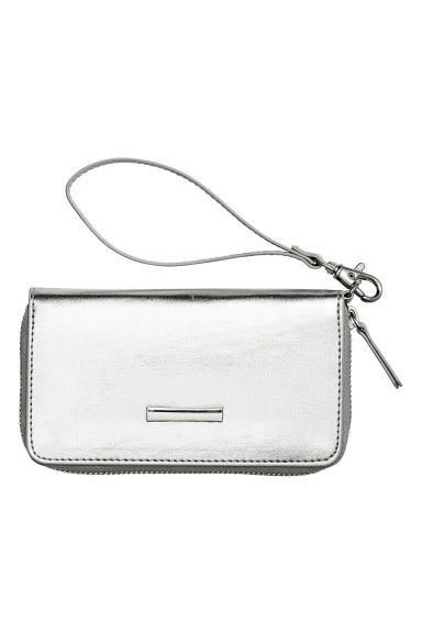 Zipped purse - Silver - Ladies | H&M CN 1