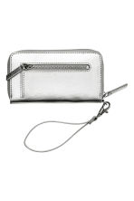 Zipped purse - Silver - Ladies | H&M CN 2