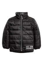 Lightweight padded jacket - Black - Kids | H&M CN 2