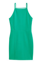 Textured dress - Green - Ladies | H&M CN 2