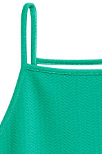 Textured dress - Green - Ladies | H&M CN 4