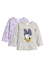 Grey/Daisy Duck