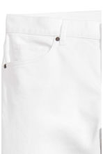 Twill trousers Skinny fit - White - Men | H&M CN 3