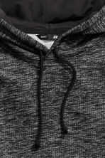 Hooded top - Black marl - Men | H&M 4