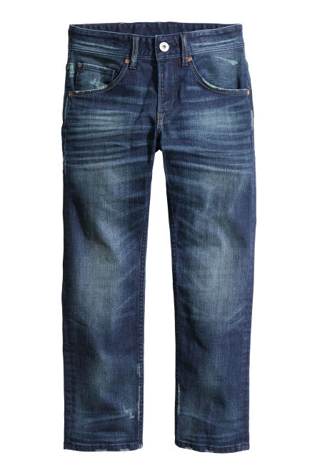 Relaxed Generous Fit Jeans