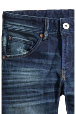 Relaxed Generous Size Jeans - Dark denim blue - Kids | H&M CN 3