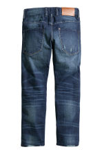 Relaxed Generous Size Jeans - Dark denim blue - Kids | H&M CN 2