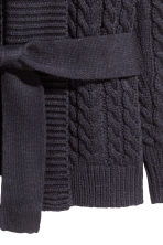 Cable-knit cardigan - Dark blue - Men | H&M CN 3