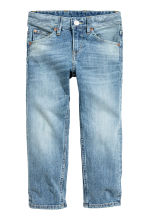 Relaxed Trashed Jeans - Azul denim claro -  | H&M PT 2