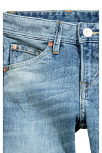 Relaxed Trashed Jeans - Azul denim claro -  | H&M PT 4
