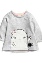 Top and leggings - Light grey/Ghost - Kids | H&M CN 3