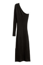 One-shoulder dress - Black - Ladies | H&M CN 2