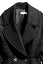 Wool-blend coat - Black - Ladies | H&M CN 3