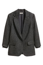 Wool-blend jacket - Dark grey - Ladies | H&M CN 2