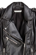 Biker jacket - Black -  | H&M GB 4