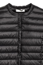 Thin down jacket - Black - Ladies | H&M 4