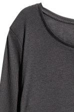 Long jersey top - Black - Ladies | H&M 3