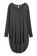 Long jersey top - Black - Ladies | H&M 2