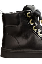 Pile-lined trainers - Black - Kids | H&M CN 4