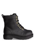 Warm-lined boots - Black - Kids | H&M CN 2